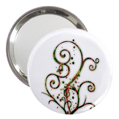 Scroll Magic Fantasy Design 3  Handbag Mirrors