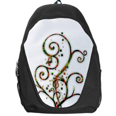 Scroll Magic Fantasy Design Backpack Bag