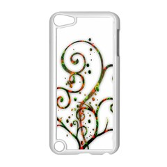 Scroll Magic Fantasy Design Apple iPod Touch 5 Case (White)
