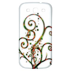 Scroll Magic Fantasy Design Samsung Galaxy S3 S III Classic Hardshell Back Case