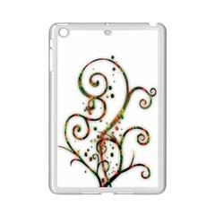 Scroll Magic Fantasy Design iPad Mini 2 Enamel Coated Cases