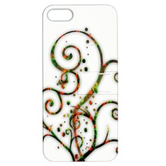 Scroll Magic Fantasy Design Apple Iphone 5 Hardshell Case With Stand