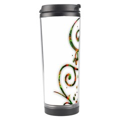 Scroll Magic Fantasy Design Travel Tumbler