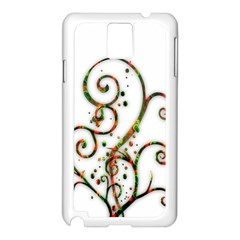Scroll Magic Fantasy Design Samsung Galaxy Note 3 N9005 Case (White)