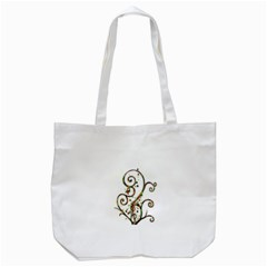 Scroll Magic Fantasy Design Tote Bag (white)