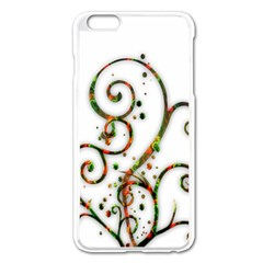 Scroll Magic Fantasy Design Apple Iphone 6 Plus/6s Plus Enamel White Case
