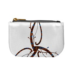 Abstract Shape Stylized Designed Mini Coin Purses