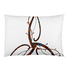Abstract Shape Stylized Designed Pillow Case (two Sides)