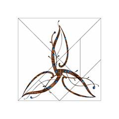 Abstract Shape Stylized Designed Acrylic Tangram Puzzle (4  x 4 )