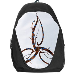 Abstract Shape Stylized Designed Backpack Bag