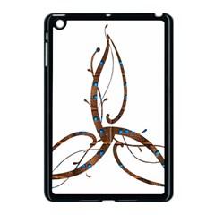 Abstract Shape Stylized Designed Apple Ipad Mini Case (black)