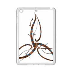 Abstract Shape Stylized Designed iPad Mini 2 Enamel Coated Cases