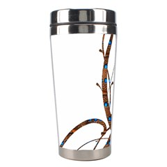 Abstract Shape Stylized Designed Stainless Steel Travel Tumblers