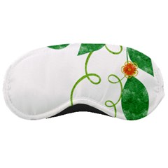 Scrapbook Green Nature Grunge Sleeping Masks