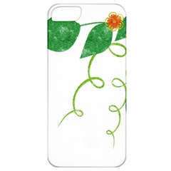 Scrapbook Green Nature Grunge Apple iPhone 5 Classic Hardshell Case