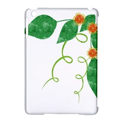 Scrapbook Green Nature Grunge Apple iPad Mini Hardshell Case (Compatible with Smart Cover)