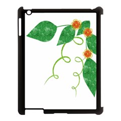 Scrapbook Green Nature Grunge Apple Ipad 3/4 Case (black)