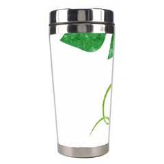 Scrapbook Green Nature Grunge Stainless Steel Travel Tumblers