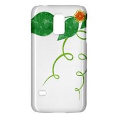 Scrapbook Green Nature Grunge Galaxy S5 Mini