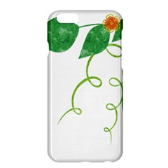 Scrapbook Green Nature Grunge Apple Iphone 6 Plus/6s Plus Hardshell Case