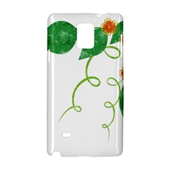 Scrapbook Green Nature Grunge Samsung Galaxy Note 4 Hardshell Case