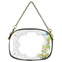 Scrapbook Element Lace Embroidery Chain Purses (Two Sides)