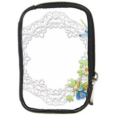 Scrapbook Element Lace Embroidery Compact Camera Cases
