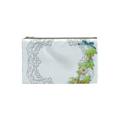 Scrapbook Element Lace Embroidery Cosmetic Bag (Small)