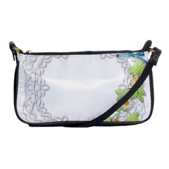 Scrapbook Element Lace Embroidery Shoulder Clutch Bags