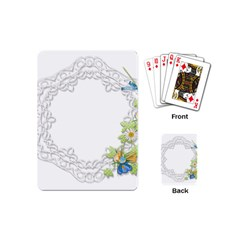 Scrapbook Element Lace Embroidery Playing Cards (Mini)