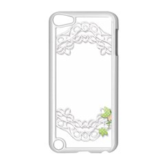 Scrapbook Element Lace Embroidery Apple Ipod Touch 5 Case (white)