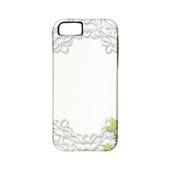 Scrapbook Element Lace Embroidery Apple Iphone 5 Classic Hardshell Case (pc+silicone)