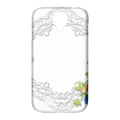 Scrapbook Element Lace Embroidery Samsung Galaxy S4 Classic Hardshell Case (pc+silicone)
