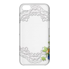 Scrapbook Element Lace Embroidery Apple Iphone 5c Hardshell Case