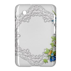 Scrapbook Element Lace Embroidery Samsung Galaxy Tab 2 (7 ) P3100 Hardshell Case