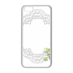 Scrapbook Element Lace Embroidery Apple Iphone 5c Seamless Case (white)