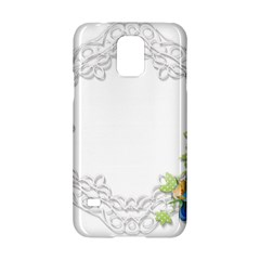 Scrapbook Element Lace Embroidery Samsung Galaxy S5 Hardshell Case