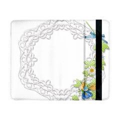 Scrapbook Element Lace Embroidery Samsung Galaxy Tab Pro 8 4  Flip Case
