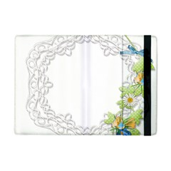 Scrapbook Element Lace Embroidery iPad Mini 2 Flip Cases