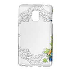 Scrapbook Element Lace Embroidery Galaxy Note Edge