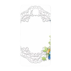 Scrapbook Element Lace Embroidery Samsung Galaxy Alpha Hardshell Back Case