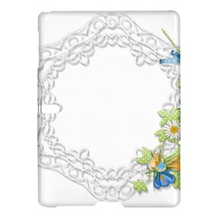 Scrapbook Element Lace Embroidery Samsung Galaxy Tab S (10 5 ) Hardshell Case