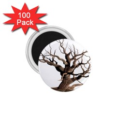 Tree Isolated Dead Plant Weathered 1.75  Magnets (100 pack)