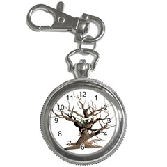Tree Isolated Dead Plant Weathered Key Chain Watches