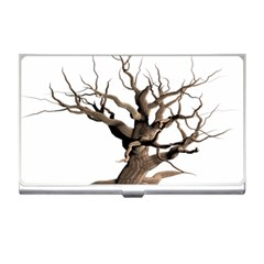 Tree Isolated Dead Plant Weathered Business Card Holders