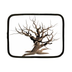 Tree Isolated Dead Plant Weathered Netbook Case (small)