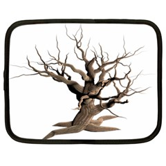 Tree Isolated Dead Plant Weathered Netbook Case (XL)