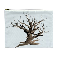 Tree Isolated Dead Plant Weathered Cosmetic Bag (xl)