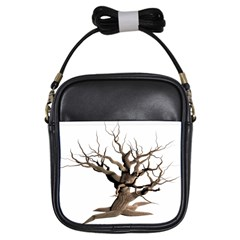 Tree Isolated Dead Plant Weathered Girls Sling Bags