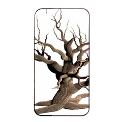 Tree Isolated Dead Plant Weathered Apple Iphone 4/4s Seamless Case (black)